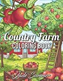 Best Book Of Coloring - Country Farm Coloring Book: An Adult Coloring Book Review