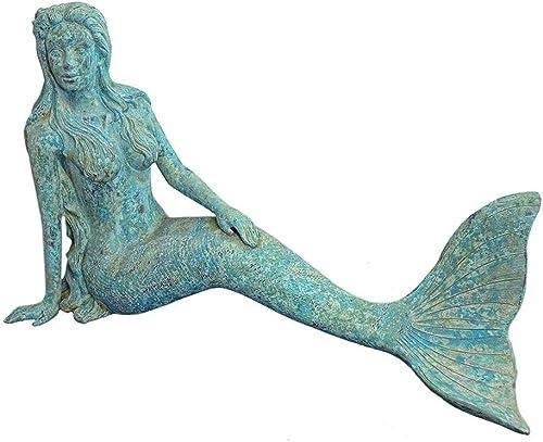 Nautical Tropical Imports Mermaid Statue Nerissa