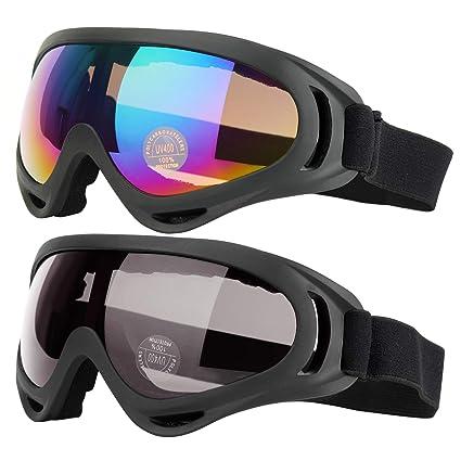 5edc098cfbfc Amazon.com   COOLOO Ski Goggles