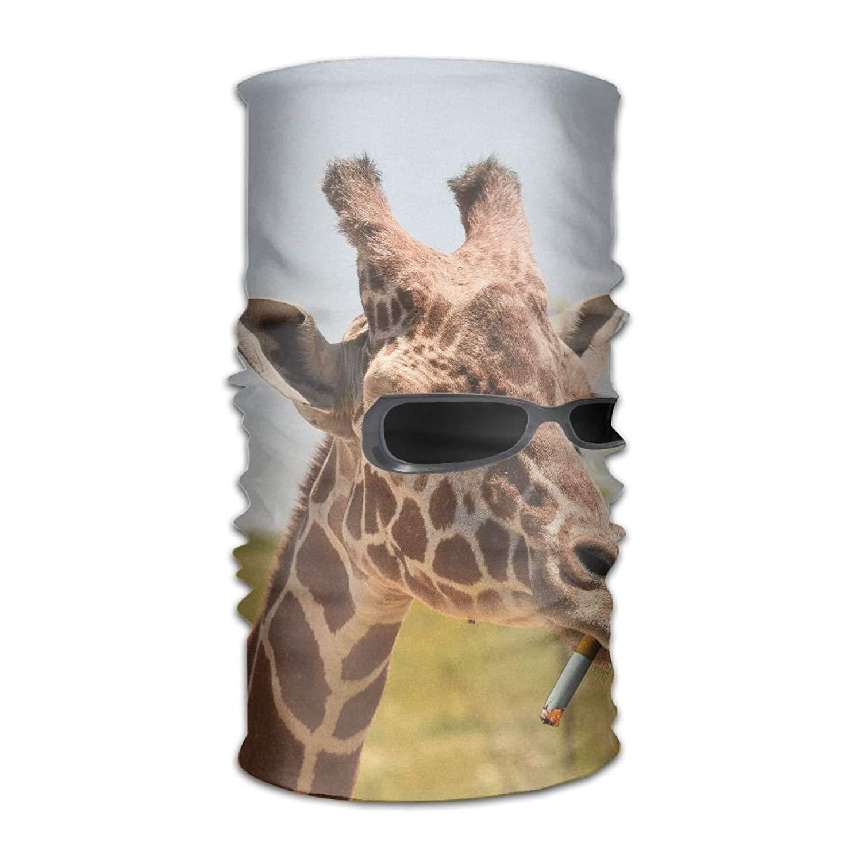 jingqi Giraffe Like A Boss Headwear Bandanas Seamless Headscarf Outdoor Sport Headdress Running Riding Skiing Hiking Headbands