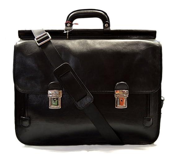 b702f479e18705 Borsa pelle valigetta 24 ore XXL uomo donna cartella portadocumenti borsa a tracolla  e mano in