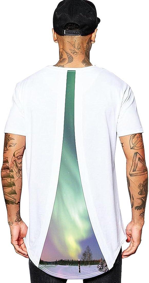 ABClothing Hauts d/ét/é pour Hommes 2018 T-Shirts Hip Hop 8 T-Shirt /à imprim/é Graphique
