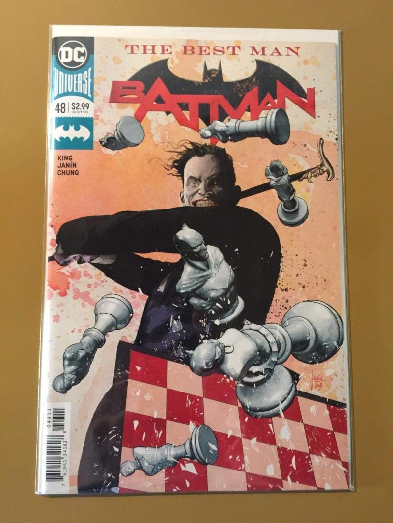 BATMAN #48, NM, Joker, Best Man, DC, 2018, more in store