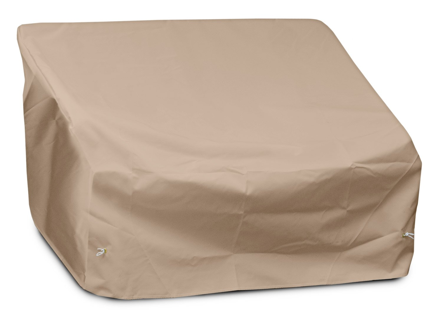 KoverRoos Weathermax 42350 2-Seat/Loveseat Cover, 54-Inch Width by 38-Inch Diameter by 31-Inch Height, Toast