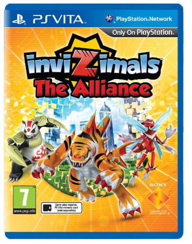 Invizimals The Alliance Sony Playstation PS Vita Game UK