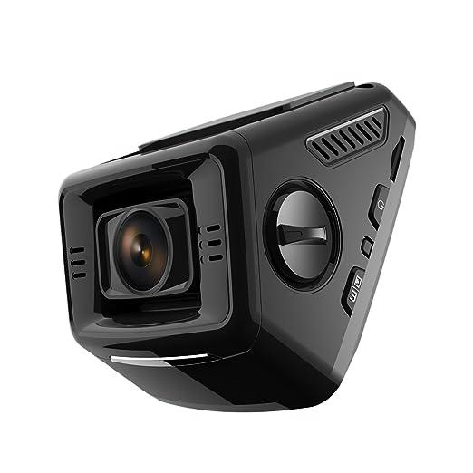2 opinioni per Pruveeo P3 Full HD 1080p Dash Cam Telecamera per Auto, Auto Dash Cam 170 gradi