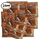 24 Pack, Starbucks House Blend Arabica Medium Roast Coffee, 4 cup filter Pack