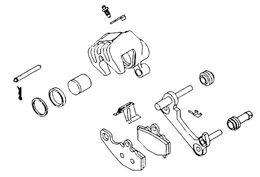 Amazon Com Kl Supply Brake Caliper Rebuild Kit 32 1286 Automotive