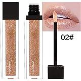 Tefmaore Maquillaje a prueba de agua de Larga Duración Líquido Lápiz Labial Maquillaje Mate Labial Brillo
