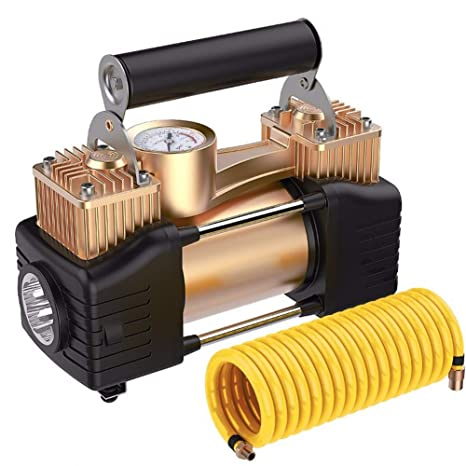 Cabzswh Bomba Inflable portátil del neumático del Coche del compresor de Aire del Coche del Tipo