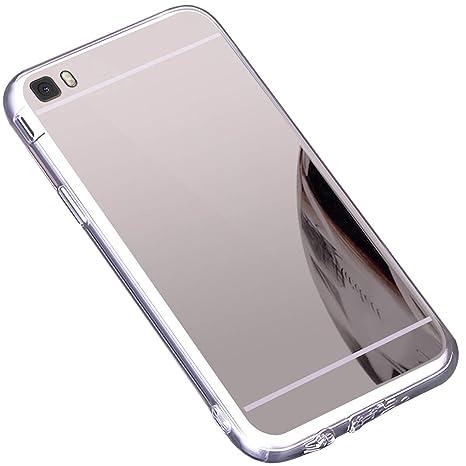 Funda Huawei P8 Lite ,Carcasa Protectora [Trasera] de [Tpu ...