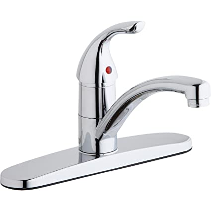 Elkay LK1000CR Everyday Chrome Single Lever Kitchen Faucet - Touch ...