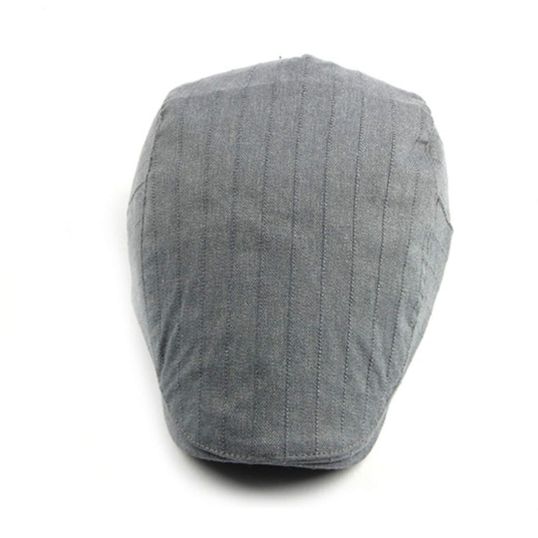 eud-UW Spring Berets Cotton Hats for Men Women Unisex Advanced Duckbill Flat Caps Adjustable Beret Caps