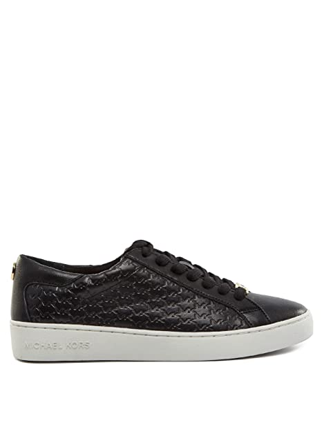 MICHAEL by Michael Kors Colby Optic Zapatillas Blanco Mujer: Amazon.es: Zapatos y complementos