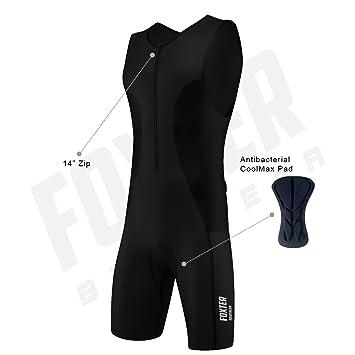 Traje de compresión, bañador para hombre de rendimiento activo para triatlón: atletismo, natación y ciclismo.