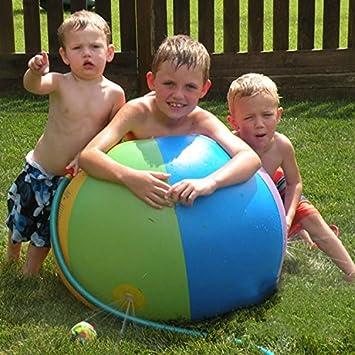 nflatable bola de chorro de agua, los niños engrosamiento jugar ...