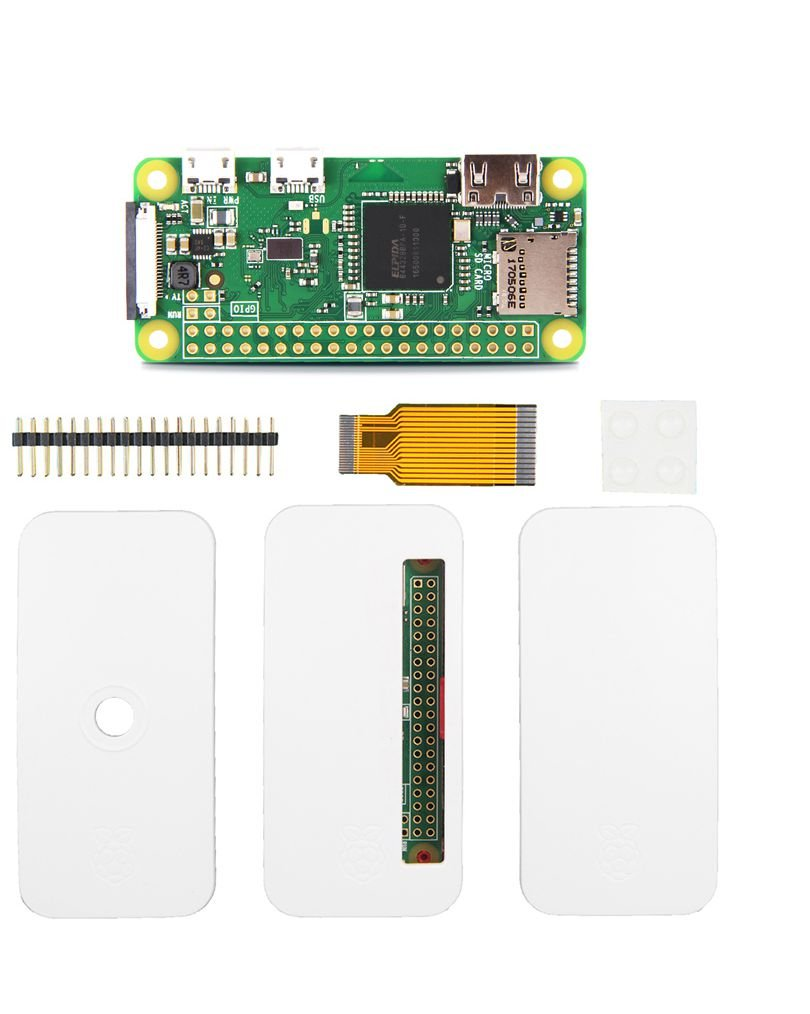 In ZIYUN Raspberry Pi Zero w kit,to get your Raspberry pi zero w camera up and running. You can easily assemble with your Pi Zero w,CSI camera connector (v1.3 only),HAT-compatible 40-pin header