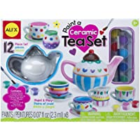 ALEX Toys Craft Paint A Ceramic Tea Set