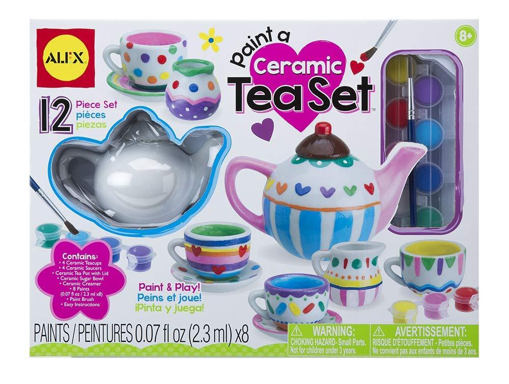 ALEX Toys Craft Paint A Ceramic Tea Set by ALEX Toys