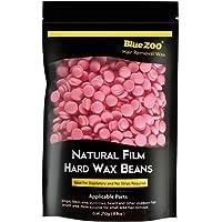 BlueZoo Depilatory Hard Wax Beans - 250 gms Bag - Rose
