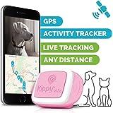 Kippy vita–GPS e Activity monitor per animali domestici–localizzatore GPS per cani e gatti–Pink Angel