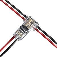 FOCCTS 12pcs Conector eléctrico inutilizable con aislamiento forma-T