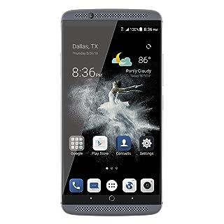 ZTE AXON 7 A2017G SIMフリースマートフォン (Android 6.0/5.5inch/nano SIM/デュアルSIMスロット)グレー