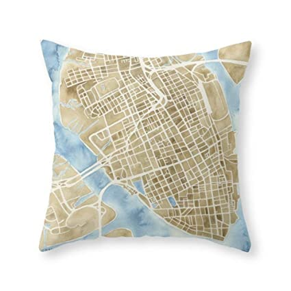 Amazon.com: mesielldp Charleston South Carolina City Map Art Print ...