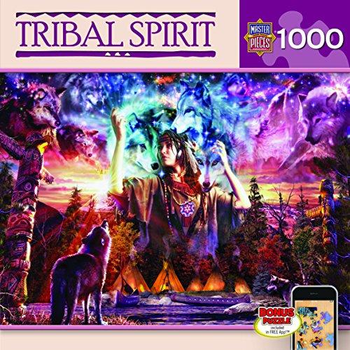 MasterPieces Tribal Spirit Native Dreams Jigsaw Puzzle, 1000-Piece