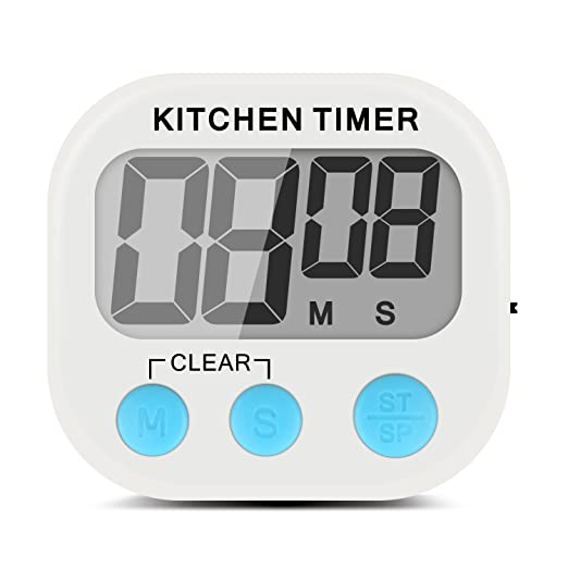 26 opinioni per Xcellent Global Digitale Timer Elettronico da Cucina con Schermo Molto Grande