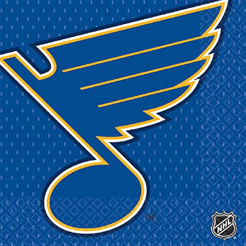 ''St. Louis Blues Collection'' Luncheon Napkins, 96 Ct.