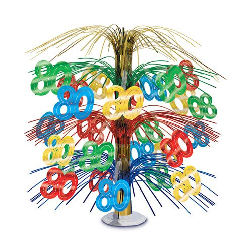 80 Cascade Centerpiece (multi-color) Party Accessory  (1 count) (1/Pkg)