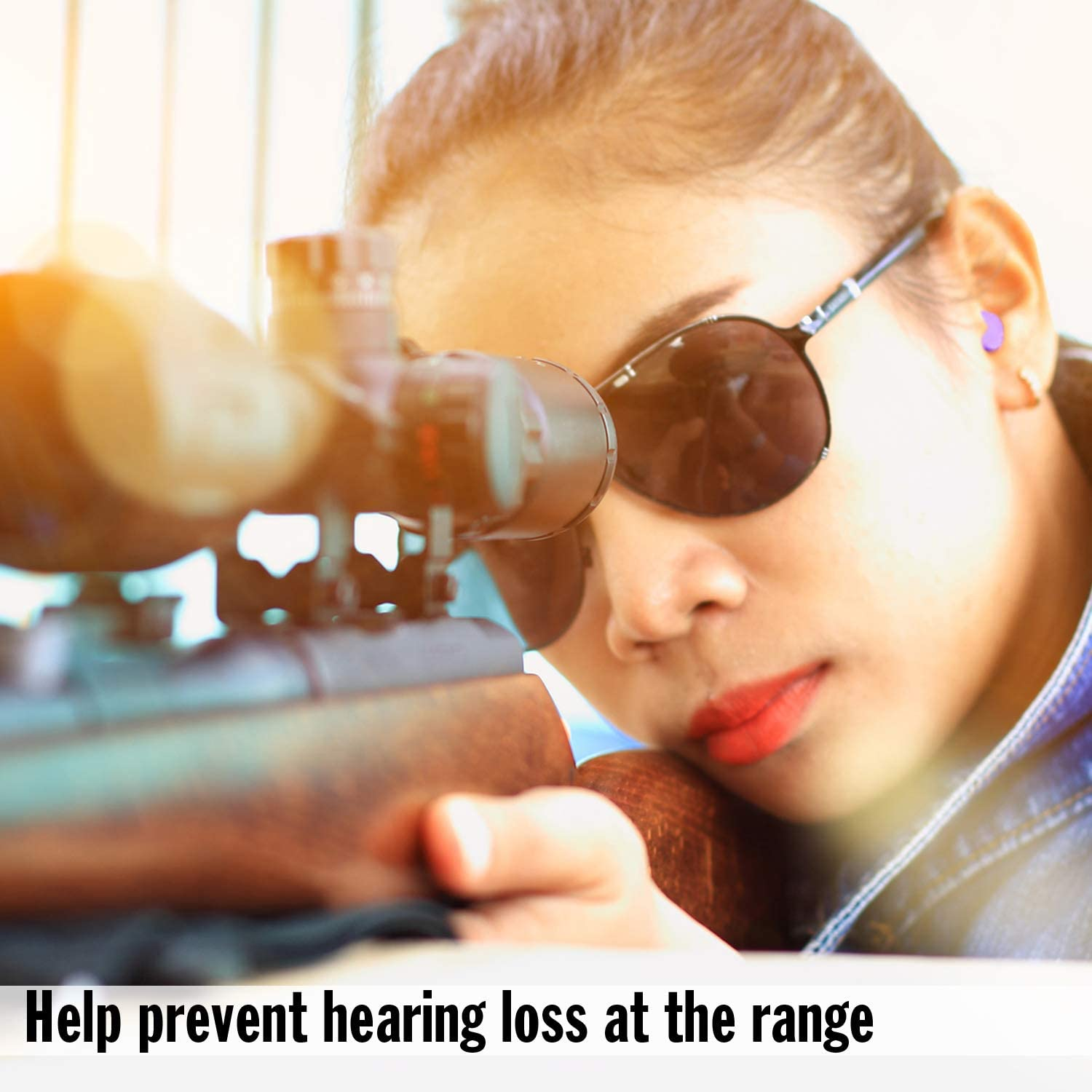 Mack's Slim Fit Soft Foam Shooting Earplugs, 7 Pair with Travel Case – Small Ear Plugs for Hunting, Tactical, Target, Skeet and Trap Shooting : Hunting Safety Glasses : Sports & Outdoors