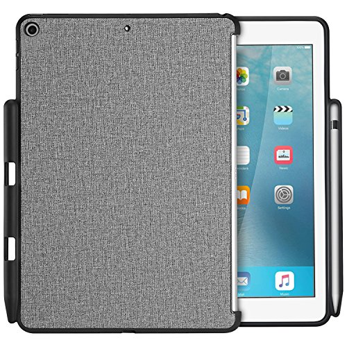 ProCase iPad 9.7 Case Companion Back Cover with Apple Pencil