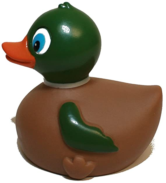 Rubber Ducks Family Mallard Rubber Duck, Waddlers Brand Toy Bathtub Rubber Duck That Float Upright, Rubber Ducky Birthday Baby Shower Gift, All Depts. ...