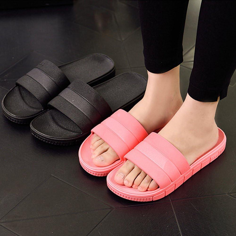 Chaussons Sandales Pantoufles d/ét/é antid/érapantes Hommes /& Femme Salle de Bain Couples Chaussures de Plage d/écontract/ées
