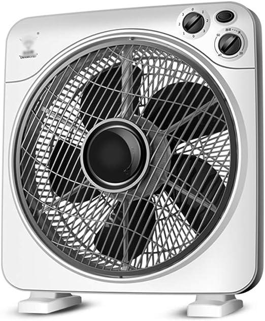 ZZHFS Ventilador Silencio Ventilador, 12 Pulgadas Ajustable de ...