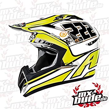 Airoh Motocross Casco cr900 – de Tony Cairoli Limited – Amarillo