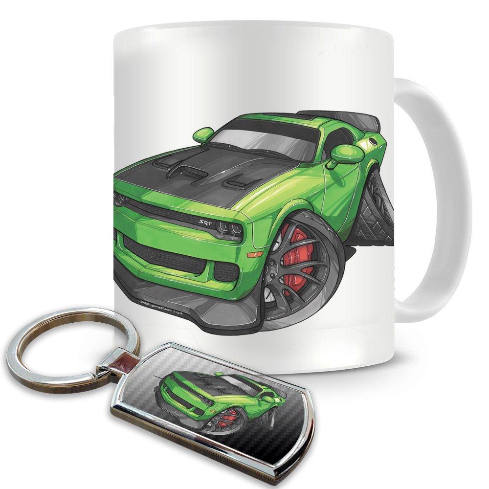 Dodge HELLCAT KEYRING O