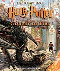 The fourth book in the beloved Harry Potter series, now illustrated in glorious full color by award-winning artist Jim Kay.Harry Potter wants to get away from the pernicious Dursleys and go to the International Quidditch Cup with Hermi...
