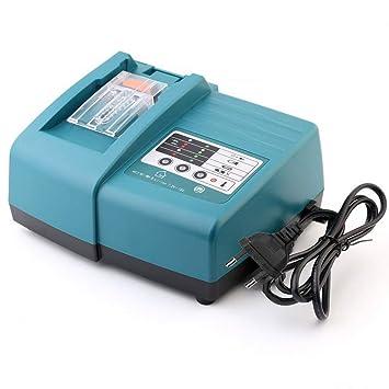 Yintiod DC18RC - Cargador para herramientas eléctricas Makita ...