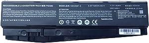 BOWEIRUI Laptop Battery Replacement for Clevo Z6-KP5GT Z7M-KP7G1 T58-T1 T6TI N870HJ Series N850BAT-6 6-87-N850S-6E71 6-87-N850S-4U41 911ME 911SE 911SE-E5TA SM-BTR2