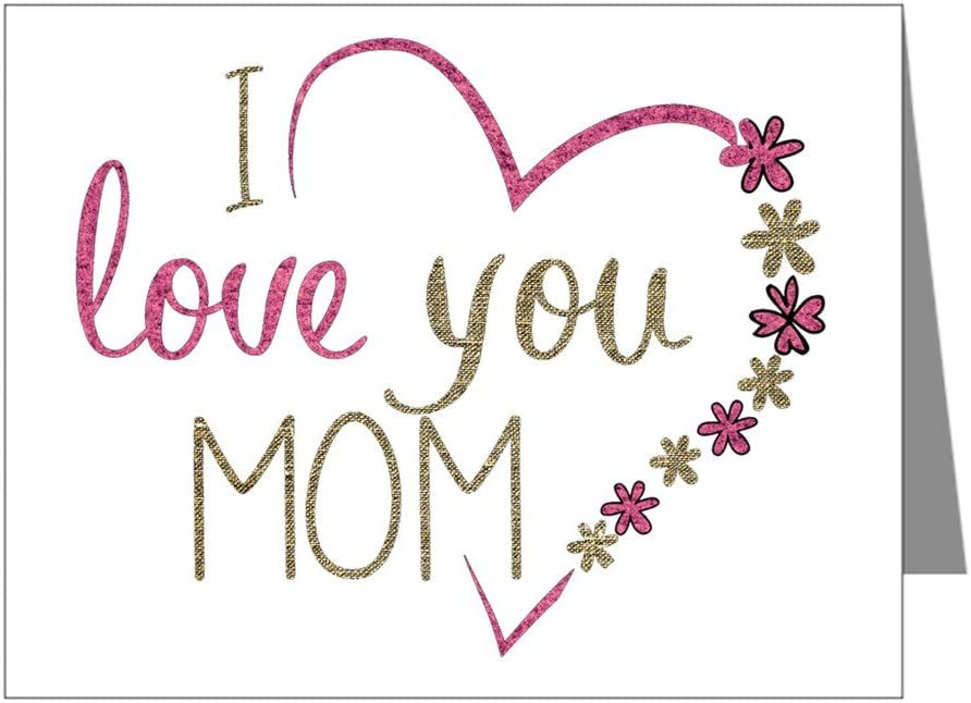 NOTECARD Mama I Love You FREE SHIPPING!