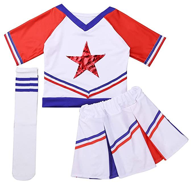 iixpin 3 pcs Disfraces de Animadora Fútbol Tenis Baloncesto ...