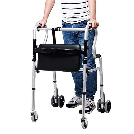 Diry Deshabilitado Andador de Aluminio para los Ancianos con ...