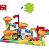 Happy Time コースター積み木おもちゃ DIY立体パズル 想像力創造力育てる 知育玩具 子供 女の子 男の子 264pcs