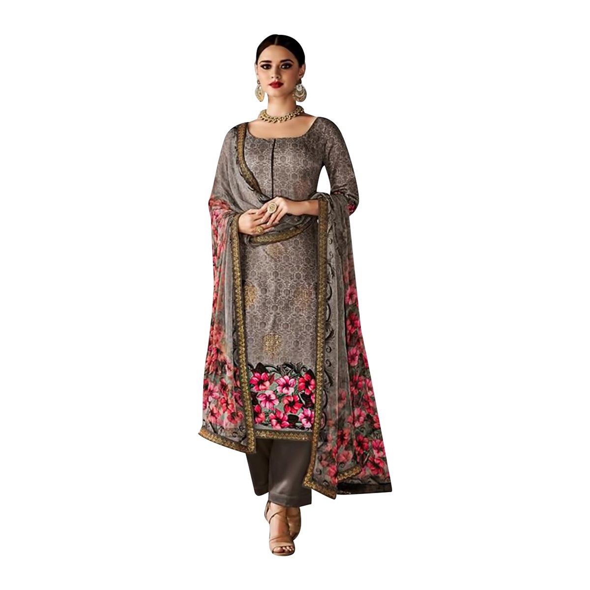 Indische Muslimischen Gerade Anzug Frauen Kleid Hijab Anarkali ...