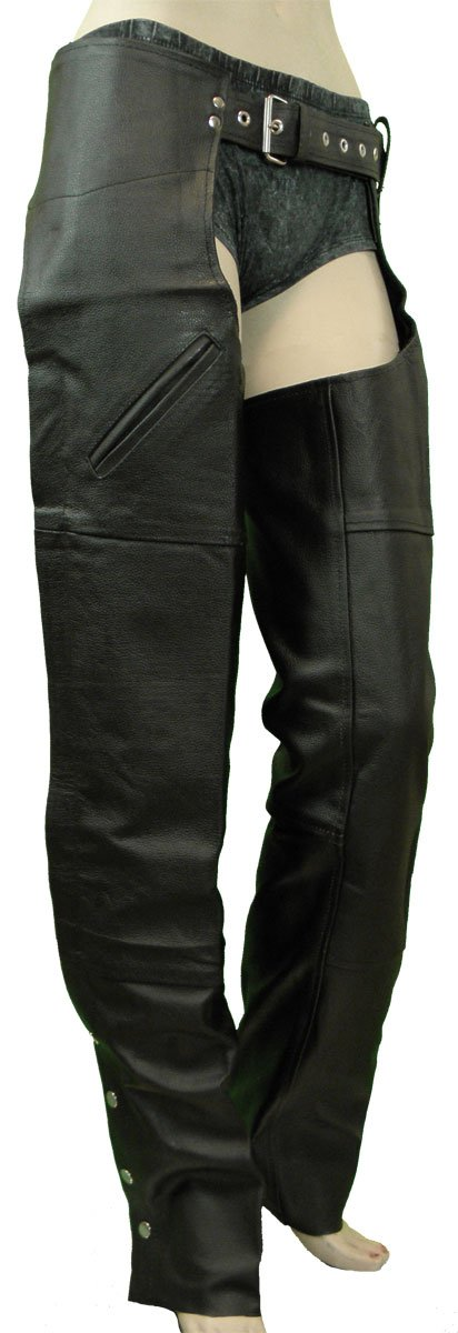 Vance Leather Basic Deep Pocket Leather Chaps