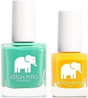 product image for ella+mila Nail Polish, mommy&me set - I Mint It + Wheels on the Bus