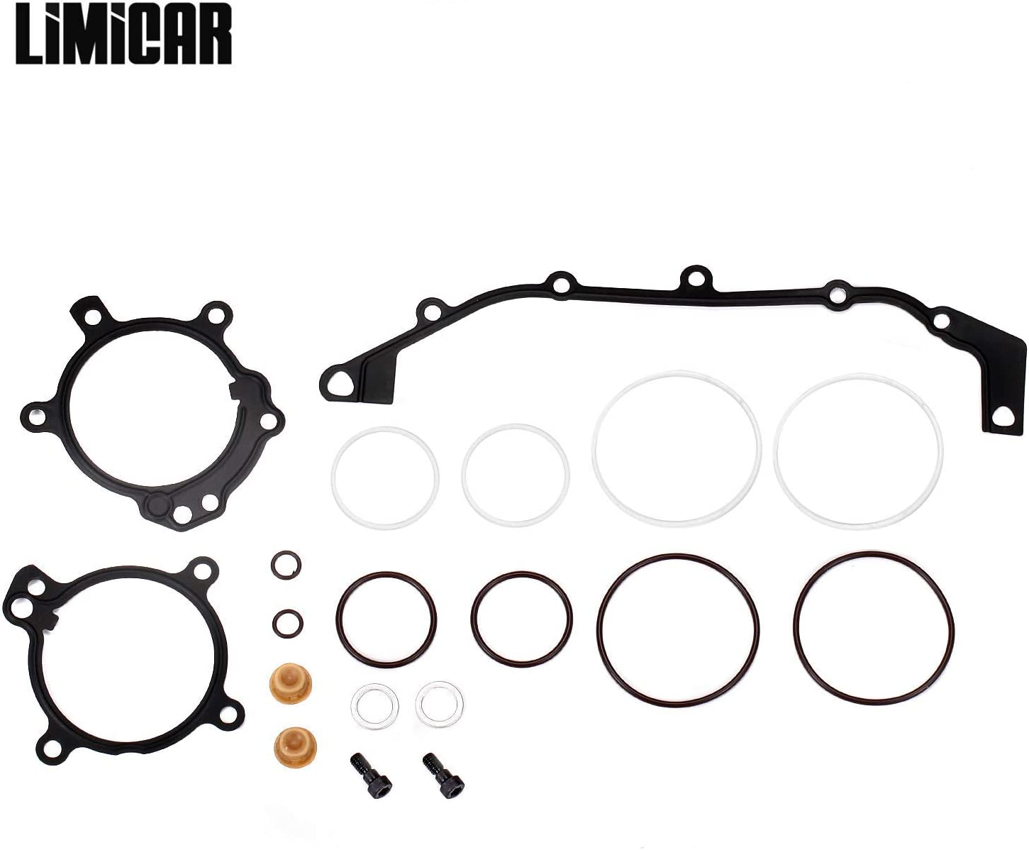 LIMICAR DUAL Stage 3 VANOS Camshaft Cover O-Ring Seal Repair Kit Compatible with BMW E36 E39 E46 E53 E60 E83